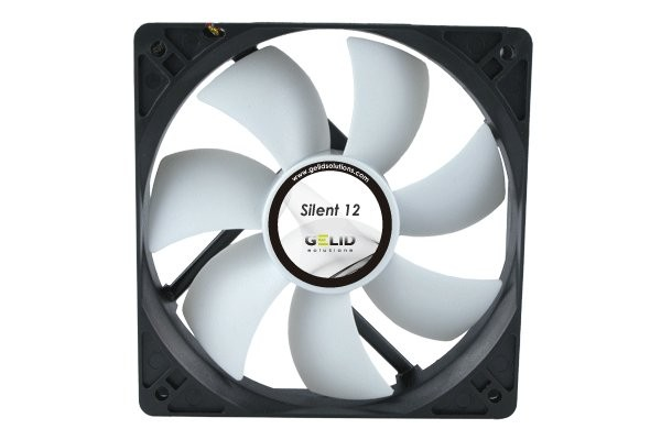GELID Solutions Low Noise fan-1000 RPM 20.2 dBA (120x120x25mm)