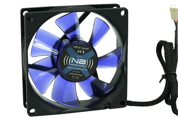 Noiseblocker NB-BlackSilentFan X1 Rev. 3.0 (80x80x25mm)