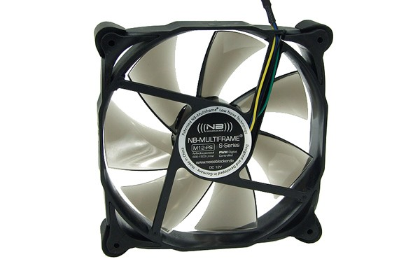Noiseblocker - Ventilateur 120mm - NB-Multiframe M12-PS - PWM (120x120x25mm)