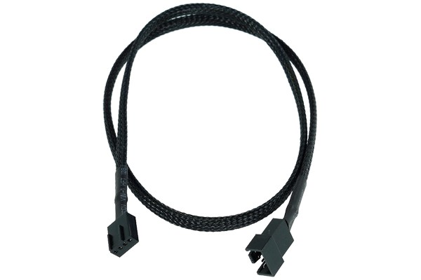 Phobya Extension d'Alimentation PWM 4pins - 60cm - Noir