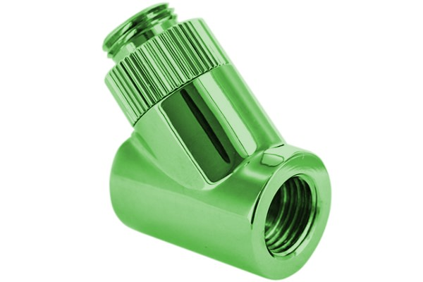 "Monsoon 19/13mm (DE 3/4"") Light Port Rotatif 45° - Vert"