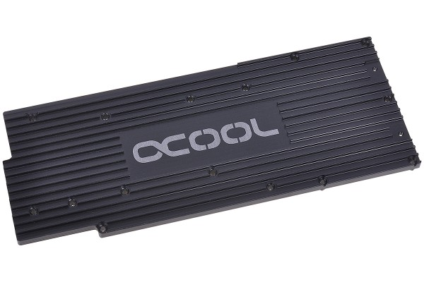 Alphacool Backplate for GPX - AMD R9 280X M01 - black