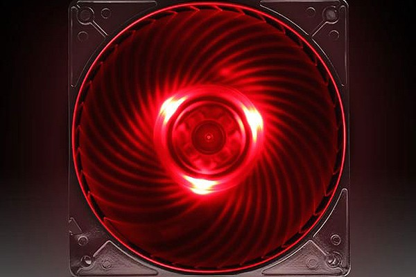 Silverstone Ventilateur 120mm Air Penetrator SST-AP121-RL - Rouge (120x120x25mm)