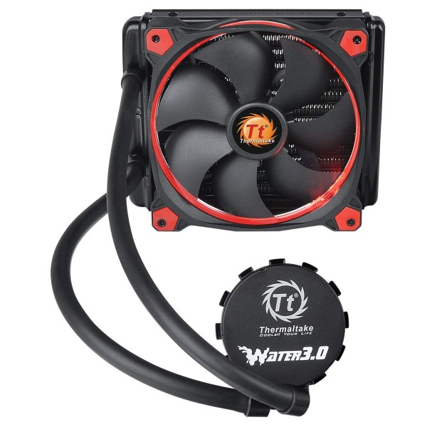 Thermaltake Water 3.0 Riing rouge 140 refroidissement par eau All-in-One