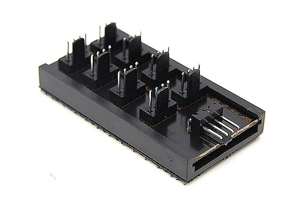 ModMyToys Répartiteur 4 Broches PWM vers 8x 4 Broches PWM