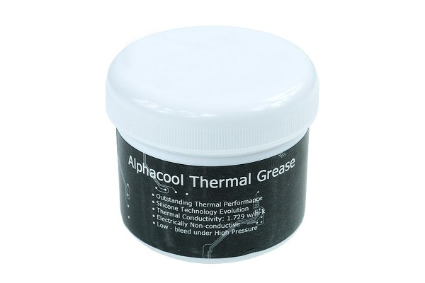 Alphacool Silver Grease - Pâte thermique 100g
