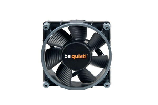 Be Quiet Case Ventilateur Aillets obscures SW1 80mm Low-Speed BQT T8025-LR-2 (80x80x25mm)