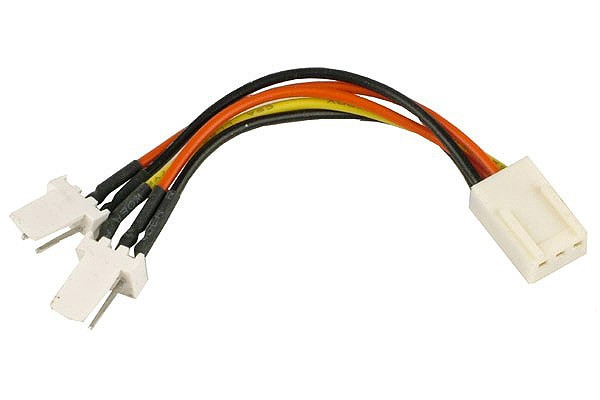 Duplicateur d'Alimentation 3Pin Molex vers 2x 3Pin Molex